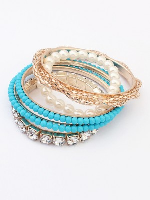 Occident Beaded Exquisite Multi-layered Grosses Soldes Bracelet