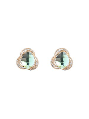 Occident Three Fleurs Bohemia Customs Stud Mode Des Boucles D'Oreilles