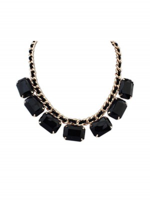 Occident Simple Blocks All-match Nouvelle Mode Collier